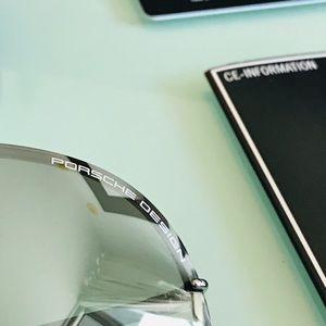 Porsche Design Accessories - NWT PORSCHE DESIGN P8478 B 69 Silver Sunglasses ✨